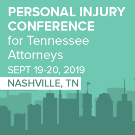 Personal Injury Law Conference for Tennessee Attorneys - Materials Only