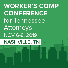 Tennessee Workers' Comp Conference - Materials Only