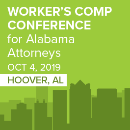 Worker's Comp Conference for Alabama Attorneys - Materials Only