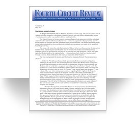 Fourth Circuit Review