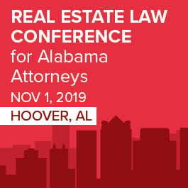 Alabama Real Estate Law Conference - Materials Only