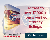 2020 Tennessee Attorneys Directory